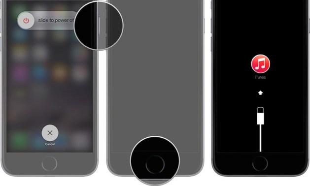 ios 11 recovery mode - Cách hạ từ iOS 11 beta xuống iOS 10.3.1 hoặc 10.3.2