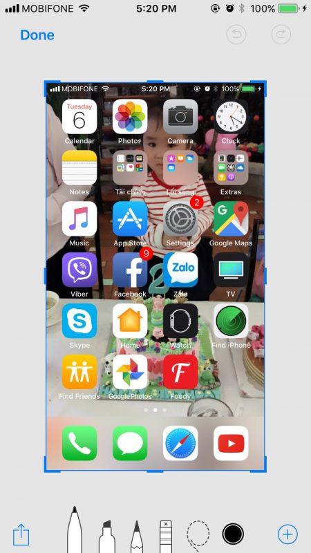 ios11 screenshots 450x800 - Tổng hợp 13 thủ thuật mới nhất và hay nhất trên iOS 11