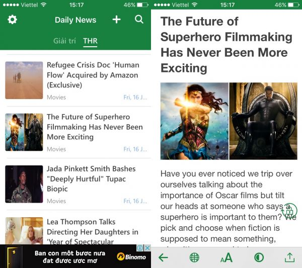 sc1 600x533 - 4 ứng dụng đọc tin tức RSS trên iPhone cực hay