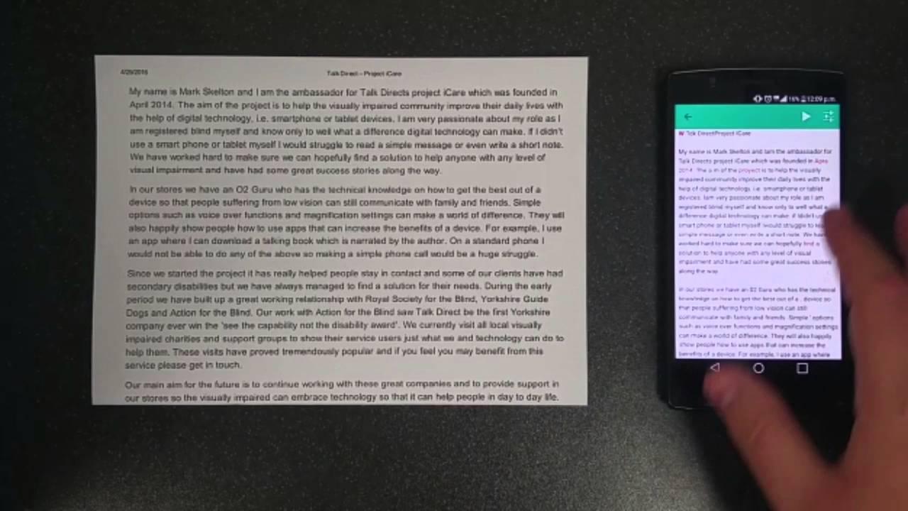 text fairy - Ứng dụng chuyển hình ảnh thành văn bản cho Android cực hay