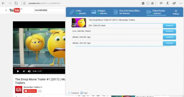 2017 07 02 14 18 38 600x318 - Hai tiện ích tăng tốc download và xem YouTube tuyệt hay trên Microsoft Edge