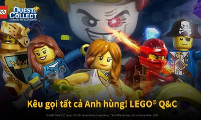"A7 400x240 - Nexon ra mắt game mobile ""LEGO Quest & Collect"""