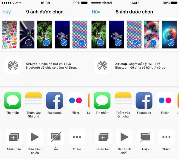 Ẩn và giấu hình ảnh an toàn trên iOS mà không cần ứng dụng 1