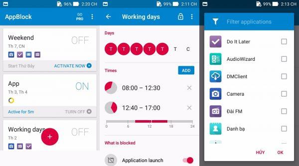 applock 1 600x333 - Lên lịch khóa ứng dụng trên Android