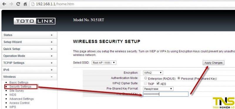cach doi mat khau wifi totolink 800x373 - Cách đổi mật khẩu Wi-Fi Totolink