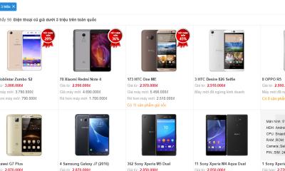 """dien thoai cu 2 400x240 - Các ông lớn """"buông tay"""", thị trường vẫn ngập smartphone, tablet giá rẻ"""