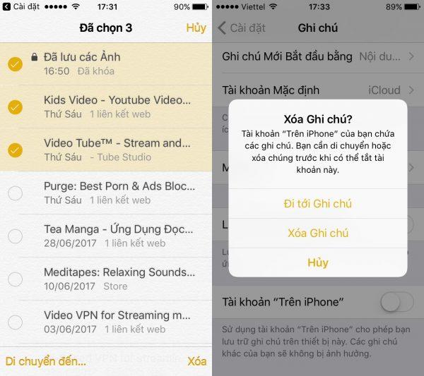 Ẩn và giấu hình ảnh an toàn trên iOS mà không cần ứng dụng 3