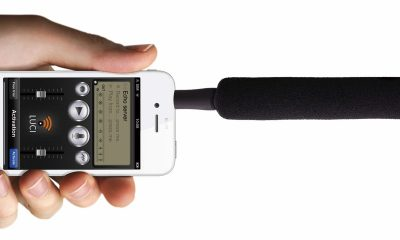 iphone microphone featured 400x240 - Cách biến smartphone thành micro không dây thật tiện lợi