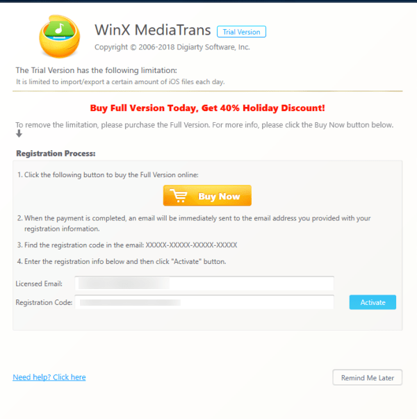 winxm06 - Đang miễn phí ứng dụng quản lý iPhone như iTunes và iTools, giá gốc 1387031₫ (60USD)
