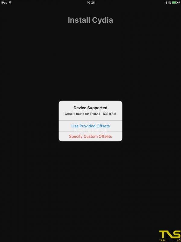 IMG 0120 600x800 - Hướng dẫn jailbreak iOS 9.3.5 cho iPhone 4S và thiết bị 32-bit