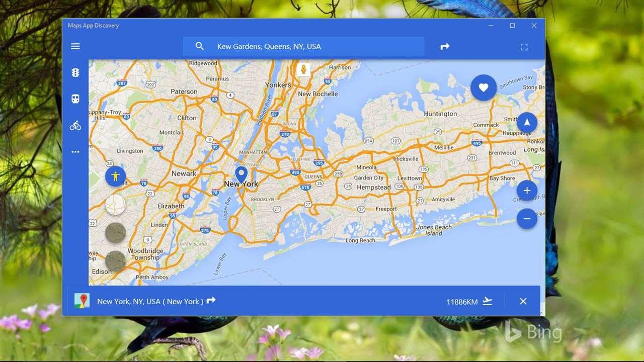 Maps App Discovery - Maps App Discovery: Tra bản đồ Google Maps tiện lợi Windows 10