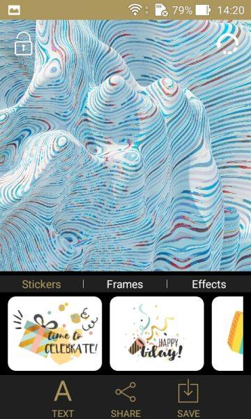 Screenshot 2017 08 31 14 20 57 360x600 - Phần mềm chỉnh sửa ảnh Android với 24 bộ sticker, hiệu ứng, khung ảnh