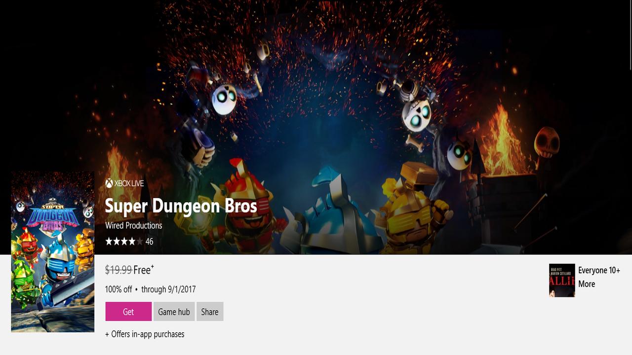 Super Dungeon Bros - Nhanh tay tải game Super Dungeon Bros (19,99$) đang miễn phí trên Windows 10