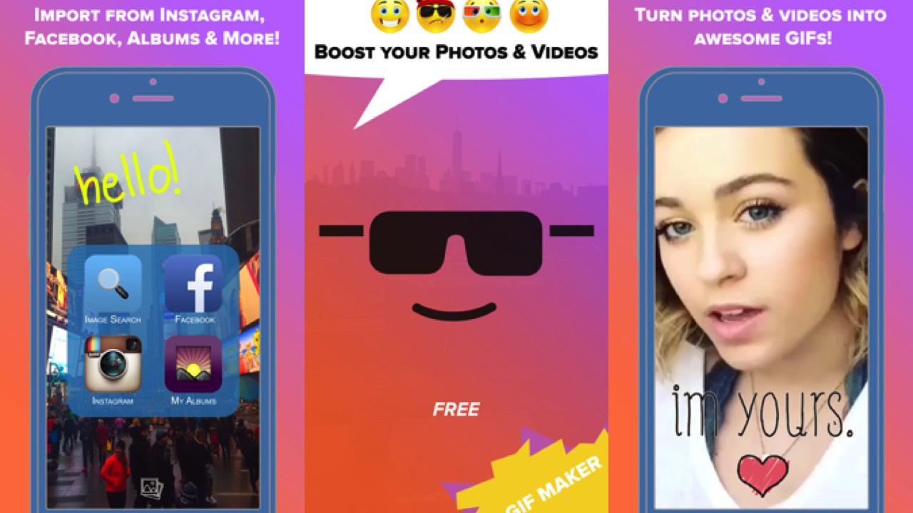 boostr featured - Cách tạo ảnh động GIF cho iPhone với BOOSTR