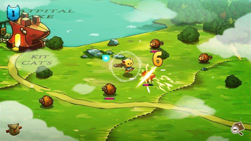 cat quest screenshot 1 800x450 - Cat Quest đã miễn phí cả hai nền tảng iOS và Android