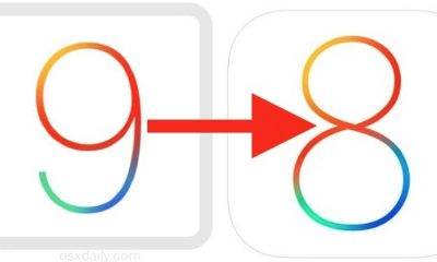downgrade ios 9 to 8 featured 400x240 - Cách hạ từ iOS 9.3.5 xuống 8.4.1 hoặc 6.1.3 không cần SHSH blobs
