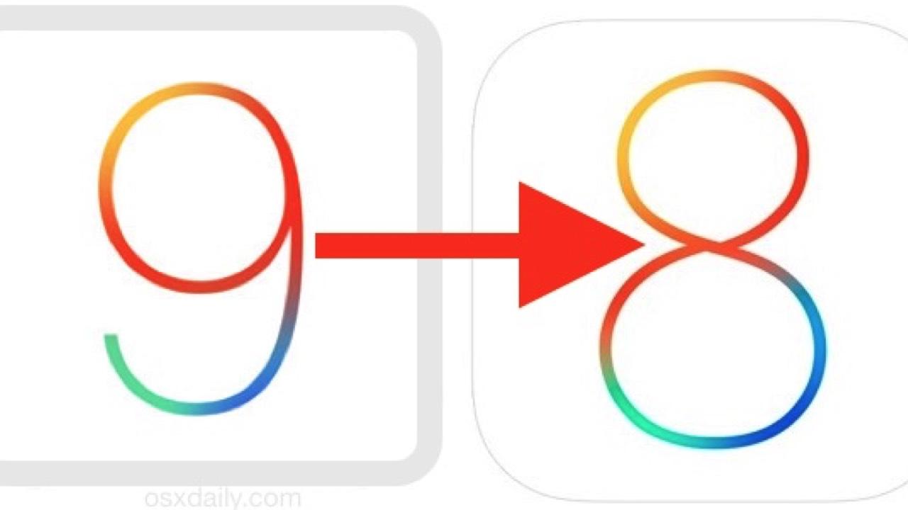 downgrade ios 9 to 8 featured - Cách hạ từ iOS 9.3.5 xuống 8.4.1 hoặc 6.1.3 không cần SHSH blobs