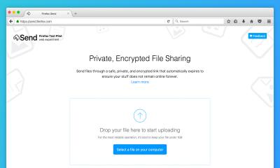 ff send 400x240 - Chia sẻ file tự hủy với Firefox Send và các dịch vụ khác