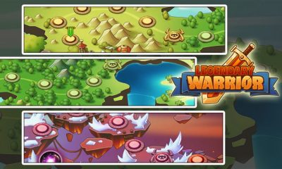 legendary warriors featured 400x240 - Game mobile Việt:  Legendary Warrior