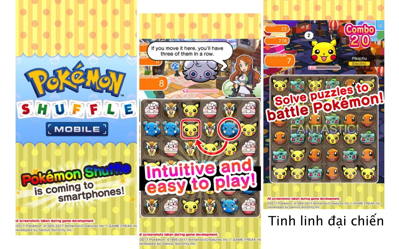 Top 10 game Pokemon trên iOS miễn phí và hay nhất 5