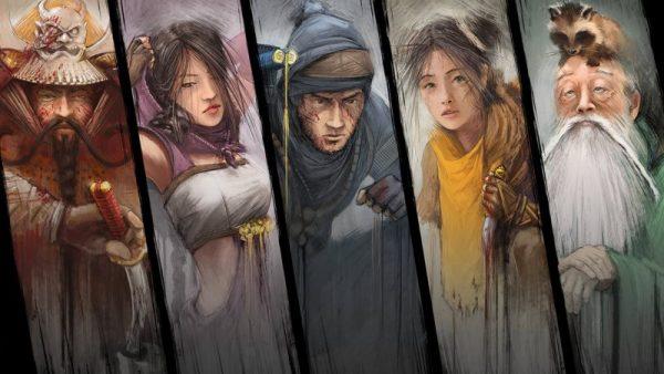 Shadow Tactics: Blades of the Shogun characters