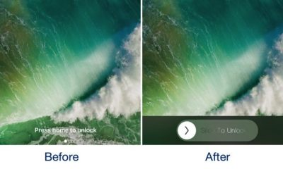 slidetounlock featured 400x240 - Đã có cách đem Slide to Unlock lên iOS 10