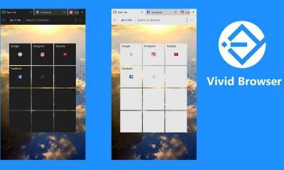 vivid browser 400x240 - Đánh giá ViVid Browser: Trình duyệt gọn nhẹ cho Windows 10 Mobile