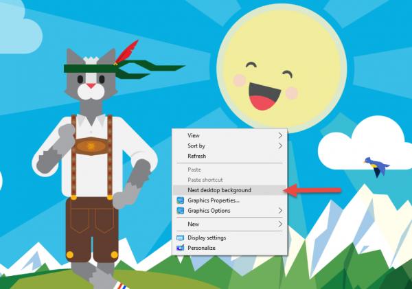 Tổng hợp 17 theme mới cho Windows 10 và cách trích xuất hình ảnh bên trong 3