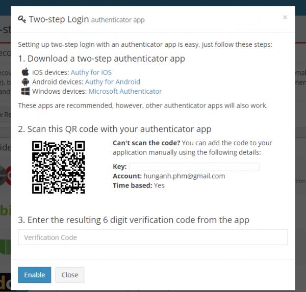 2017 09 18 14 22 56 600x573 - Quản lí mật khẩu và đồng bộ nhiều nền tảng với 2 lớp đăng nhập