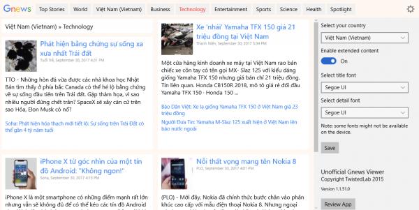 2017 09 30 17 45 53 600x301 - Đọc tin Việt tổng hợp trên Google News với hai ứng dụng Windows 10