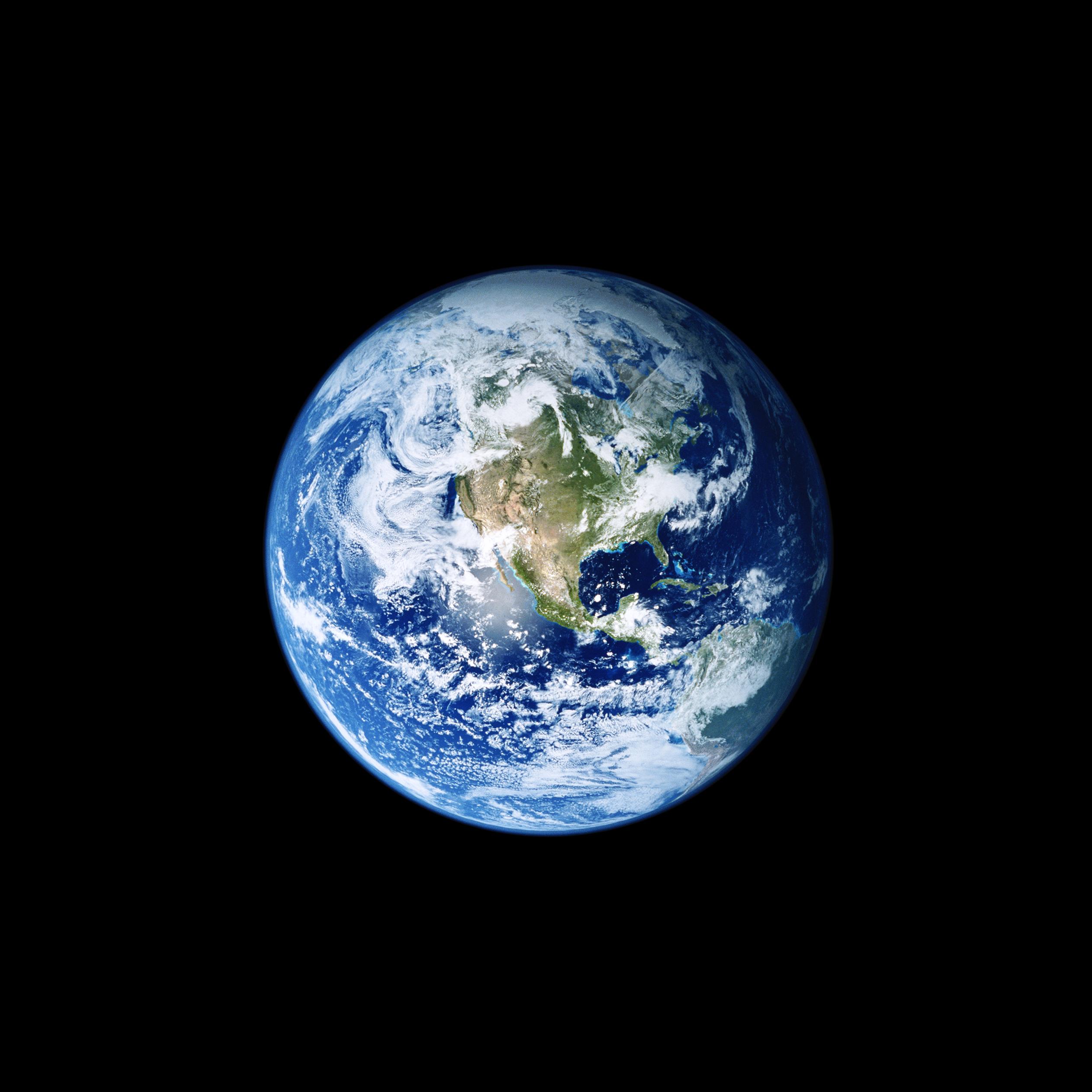 Earth iOS 11 GM iPad wallpapers - Trọn bộ hình nền mới của iOS 11