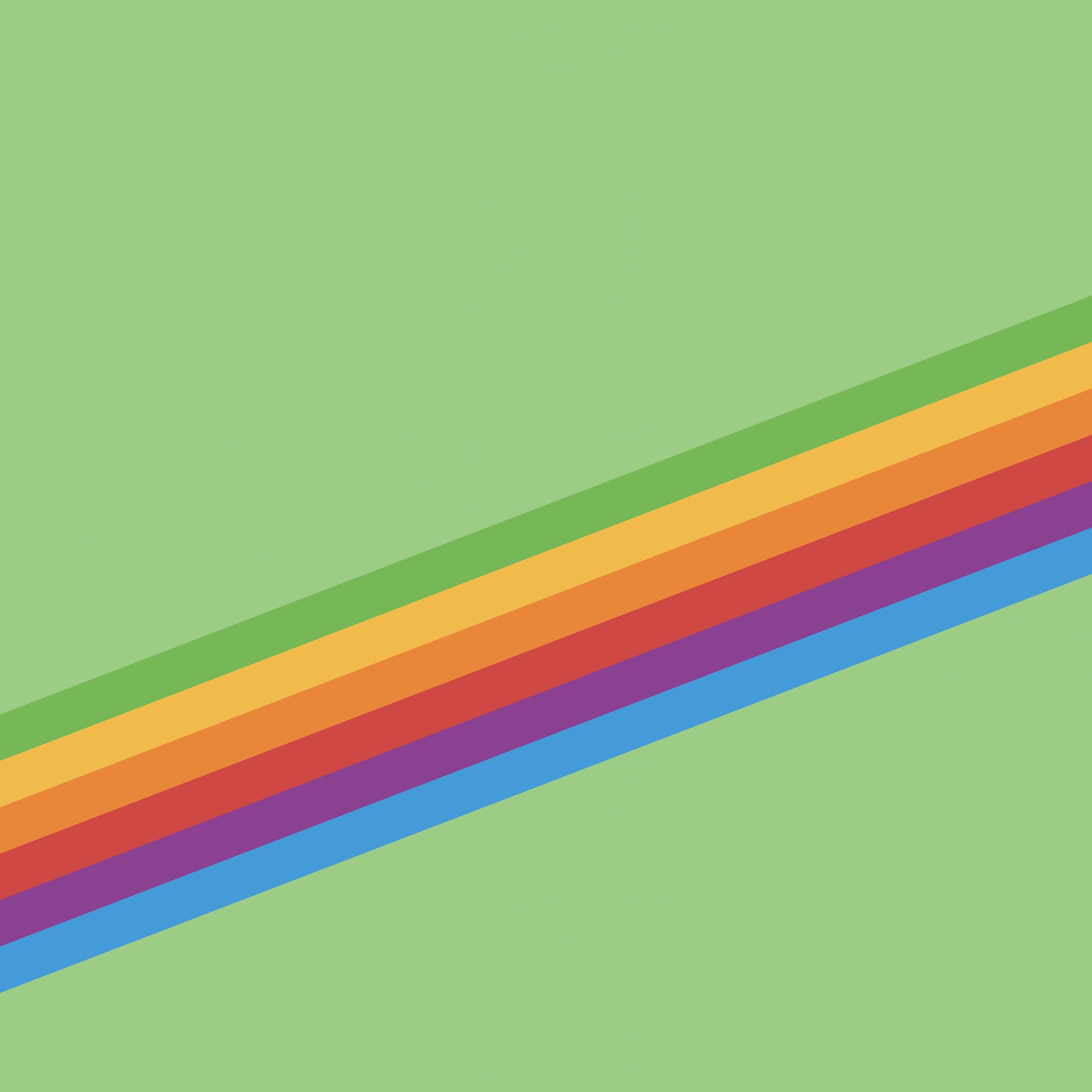 Heritage Stripe Green iOS 11 GM iPhone wallpapers - Trọn bộ hình nền mới của iOS 11