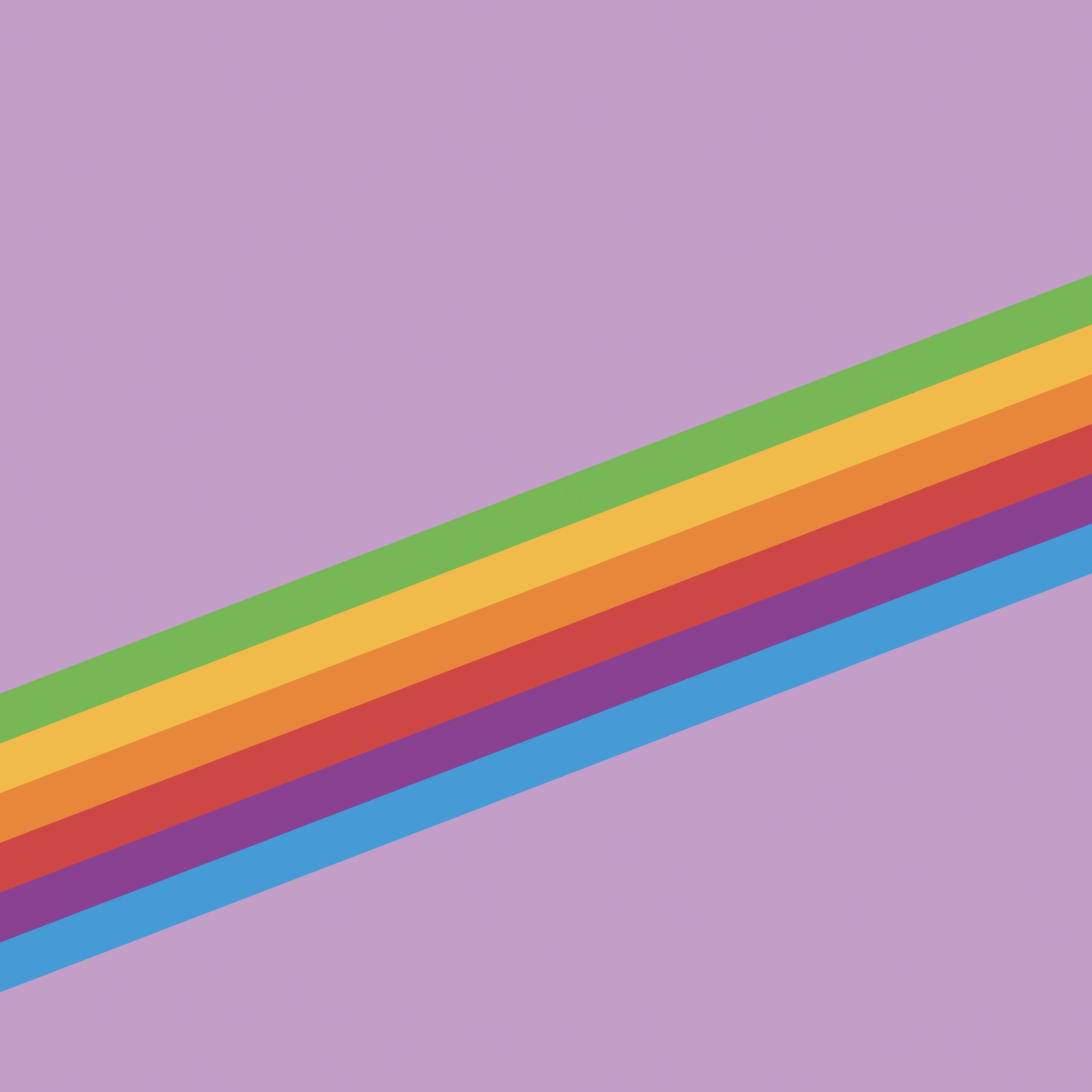 Heritage Stripe Purple iOS 11 GM iPad wallpapers - Trọn bộ hình nền mới của iOS 11