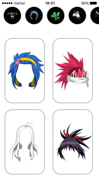 IMG 1904 338x600 - Chế ảnh phong cách hoạt hình Anime trên iOS và Android