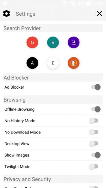 Screenshot 20170929 113006 338x600 - Dùng thử trình duyệt Ấn Độ gọn nhẹ, chặn quảng cáo, cho xem offline