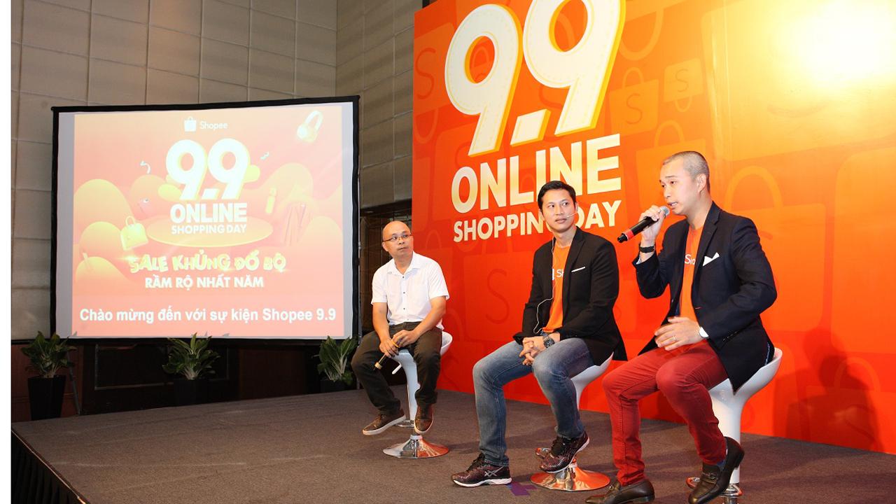 """Shopee 2 - Shopee khởi động chương trình """"9.9 Online Shopping Day"""""""