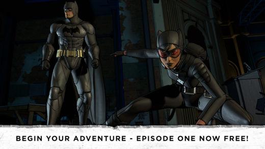 batman 1 - Batman - The Telltale Series cho iPhone bất ngờ miễn phí