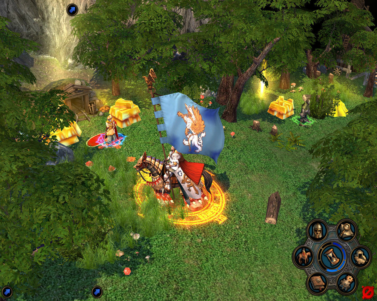 heroes of might and magic v 8 - Game cũ mà hay: Heroes of Might and Magic V