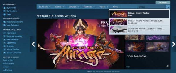 Mirage: Arcane Warfare free