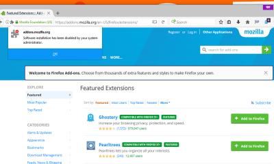 ngăn cài đặt add on trên firefox 400x240 - Cách ngăn cài đặt add-on vào trình duyệt Firefox