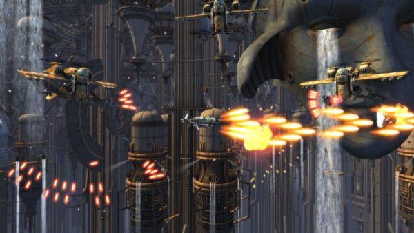 """sine mora ex screenshot 1 600x338 - Đánh giá Sine Mora EX - chiến tranh, sự mất mát và """"mưa đạn"""""""