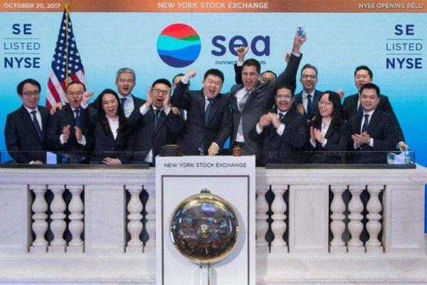 Sea vừa IPO thành công trên sàn New York 2