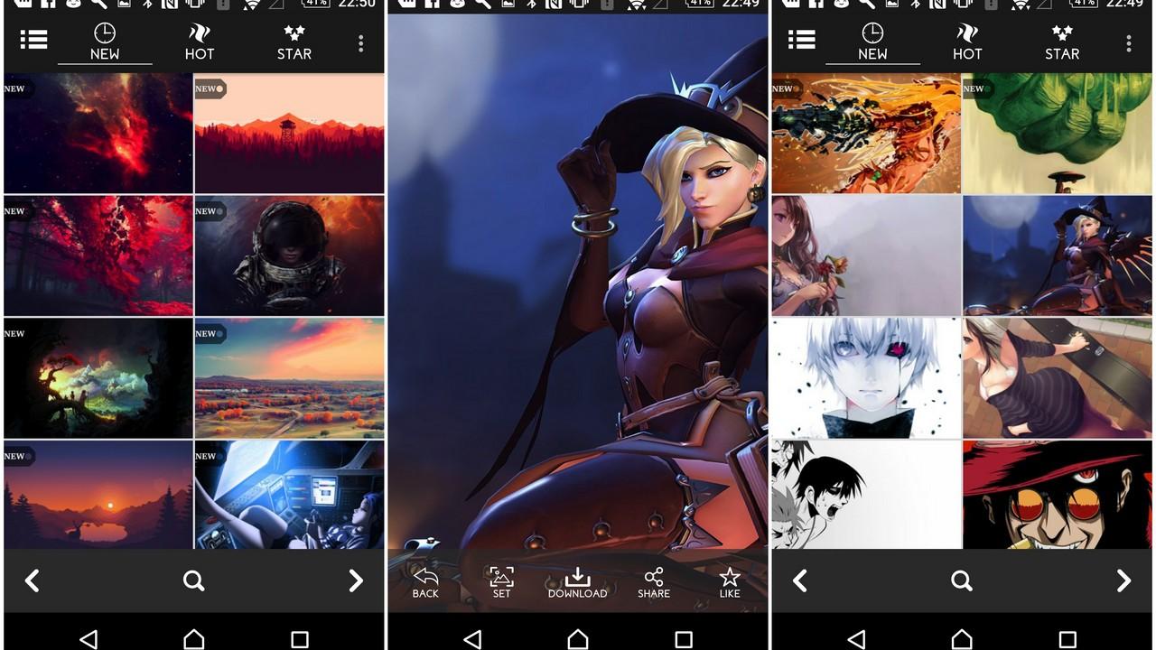 1000000 wallpapers featured - Một triệu hình nền đẹp cho Android miễn phí