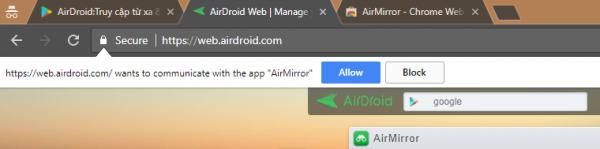 Airdroid: Chuyển file giữa PC và điện thoại dễ dàng