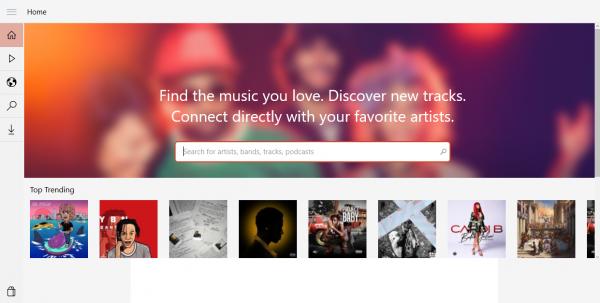 Music Cloud 10: Nghe và tải nhạc online không giới hạn trên Windows 10 1