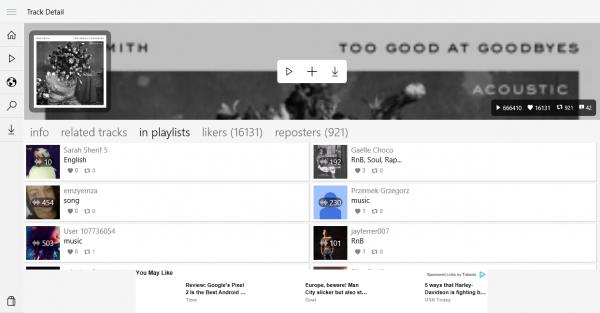 Music Cloud 10: Nghe và tải nhạc online không giới hạn trên Windows 10 3