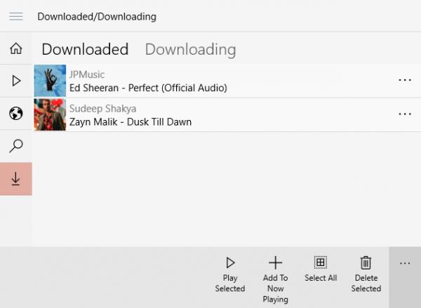 Music Cloud 10: Nghe và tải nhạc online không giới hạn trên Windows 10 4