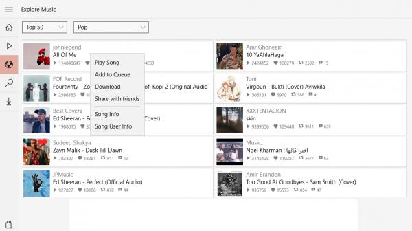 Music Cloud 10: Nghe và tải nhạc online không giới hạn trên Windows 10 2