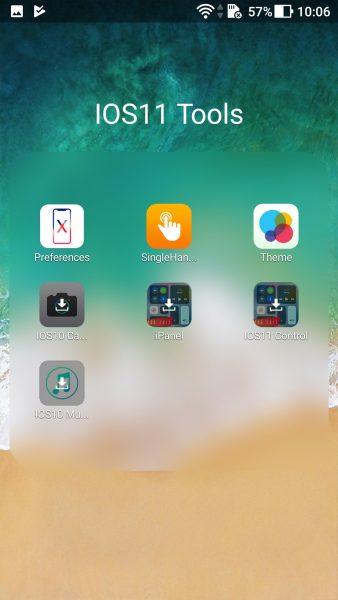 Screenshot 20171010 100611 338x600 - Cách đem giao diện iOS 11 lên Android