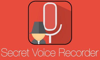Secret Voice Recorder 400x240 - Ứng dụng ghi âm bí mật trên Android, tự sao lưu lên Google Drive